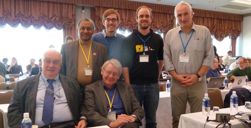 Deutsche Delegation PUGWASH mit Dhanapala und Cotta -Ramusino