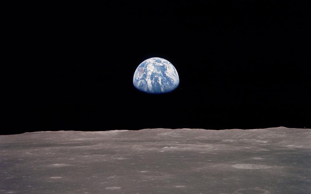 Erdaufgang Mond Erdballfans oder Hagener Zukunftsveranstaltung Titelbild