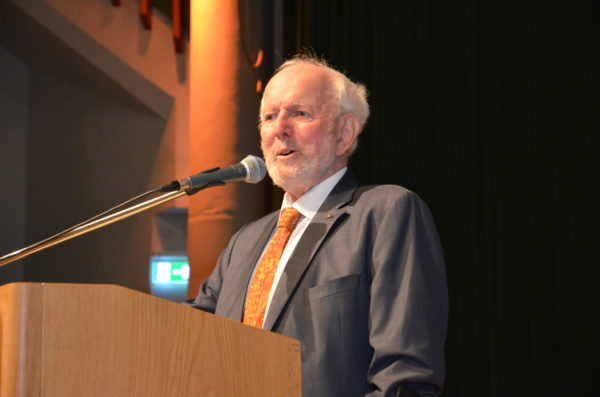 Ernst Ulrich von Weizsaecker bei der Hagener Zukunftsveranstaltung 2019