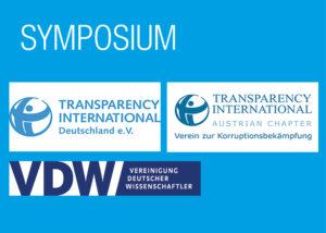 Flyer Symposium VDW, Transparency International