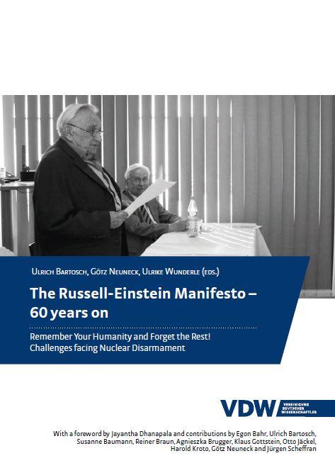 VDW Russell Einstein Manifest Cover englisch