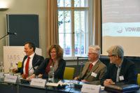 Podium der Erdgas Tagung der VDW IASS und ASPO 2017