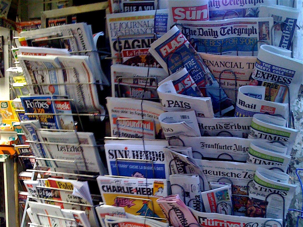 Zeitschriften für Presse