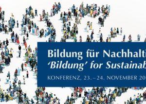 Flyer Nachhaltigkeitskonferenz 2018 (Ausschnitt)