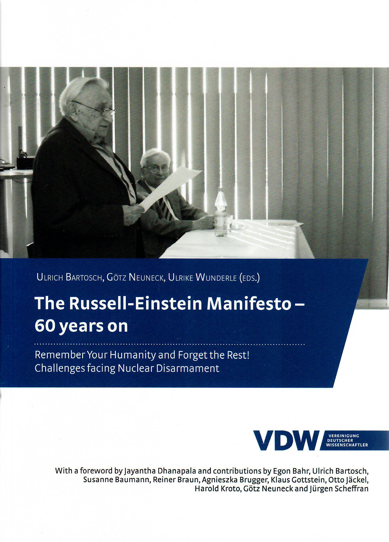 Einstein Russel Manifest 60 Jahre (Ausschnitt)