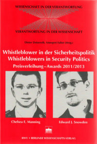 Whistleblower Preis 2011 und 2013 Buchcover
