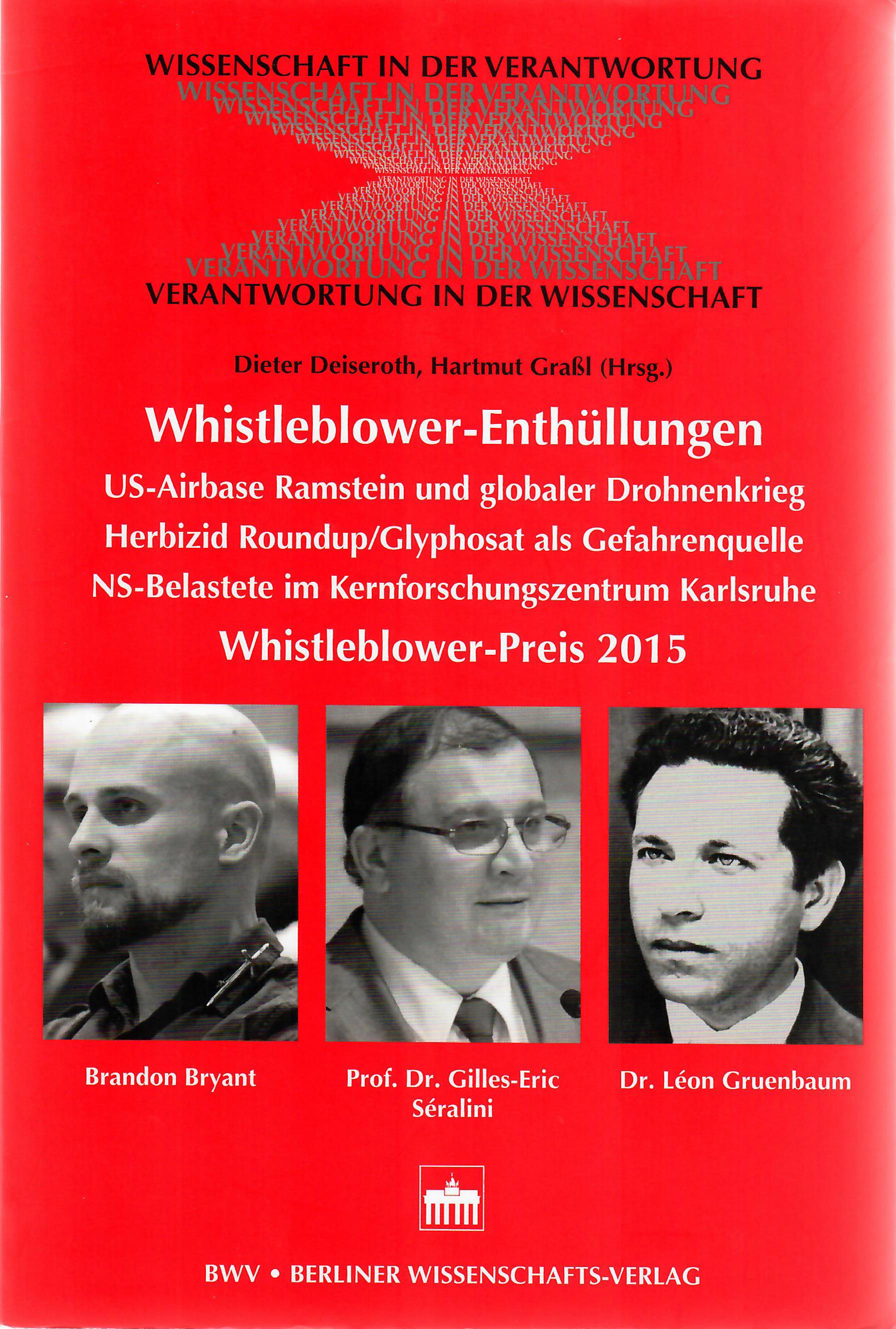 Whistleblower Preis 2015 Buchcover