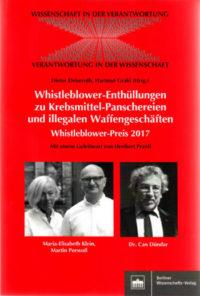Whistleblower Preis 2017 Buchcover