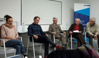 Podium Peter Finke stellt sein Buch vor: Lob der Laien