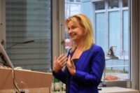 Maria Reinisch spricht auf der VDW-Tagung Viable World