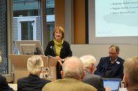 Regine Kollek spricht auf der VDW-Tagung Viable World