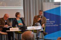 Tobias Reichert von Germanwatch redet auf der Vorstellung des ATR