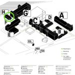 Lageplan der HTW Wilhelminencampus