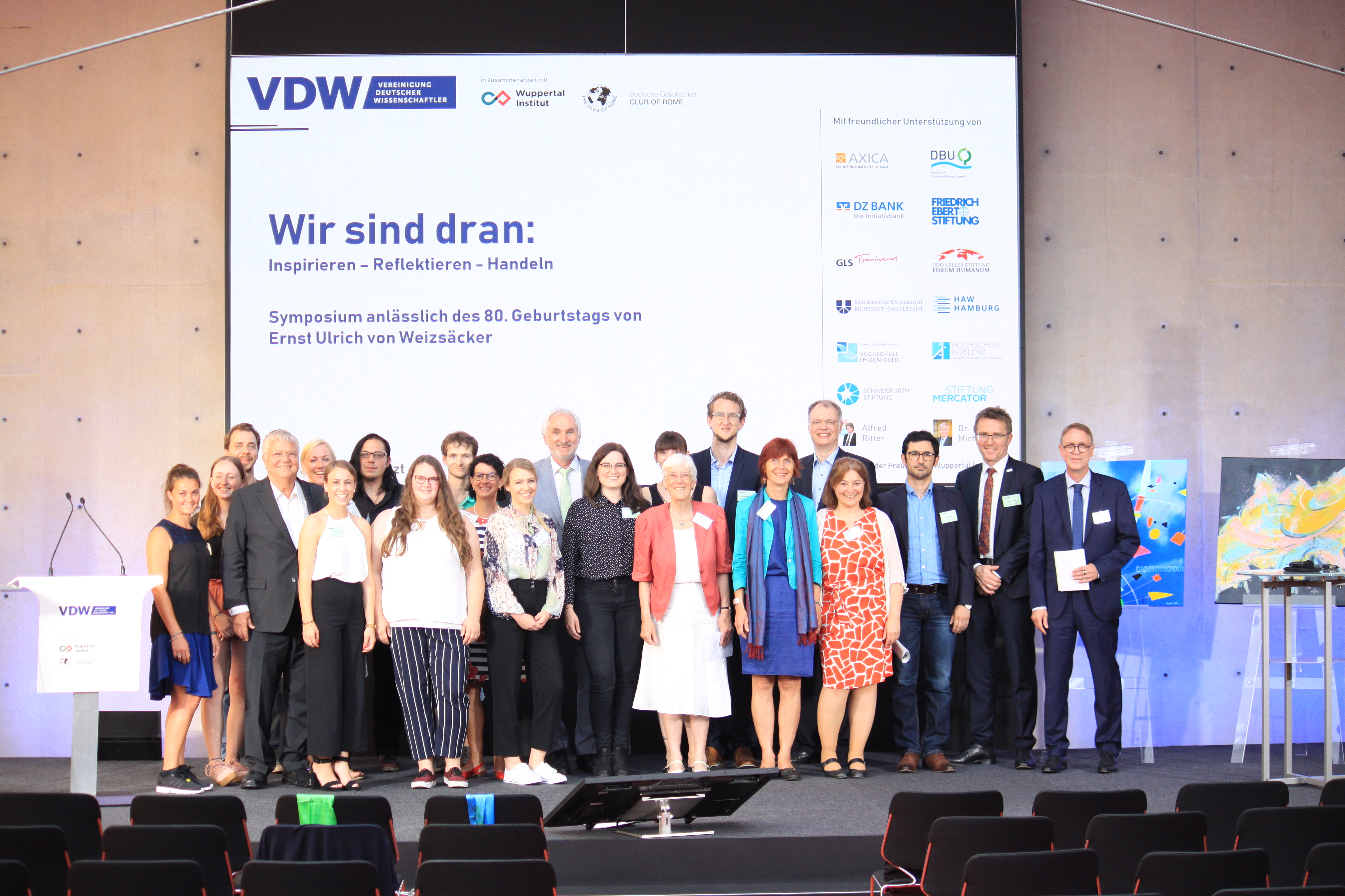 Workshop Erweiterung und Vertiefung des Menschenrechts auf Bildung VDW Symposium Wir sind dran