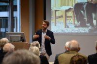 Andreas Huber spricht bei der VDW-Tagung Viable World