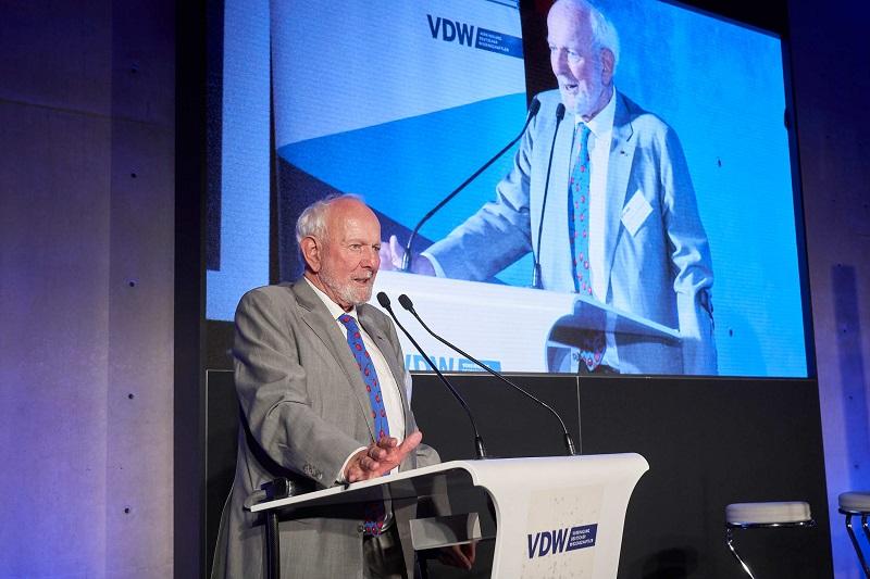 Ernst Ulrich von Weizsaecker VDW Symposium Wirsinddran 2019