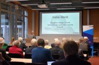 Hartmut Graßl spricht auf der VDW-Tagung Viable World