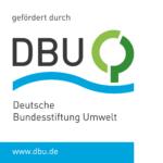 Logo für die Foerderung durch die DBU