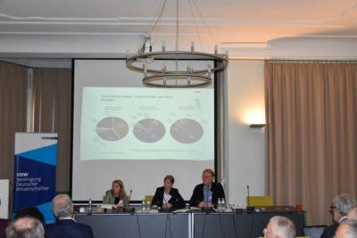 Tagung Metalle 2019 Panel globale Dimension mit Prof. Dr. Jürgen Scheffran Dr. Wiebke Rabe und Dr. Melanie Müller