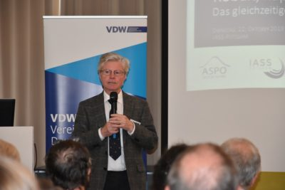 Eröffnung der Tagung durch Hartmut Graßl